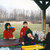 Early Spring Picnic Lunch at Point Gratiot Park - March 1998