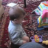 2003-2-9 - Ian responding to music from butterfly toy