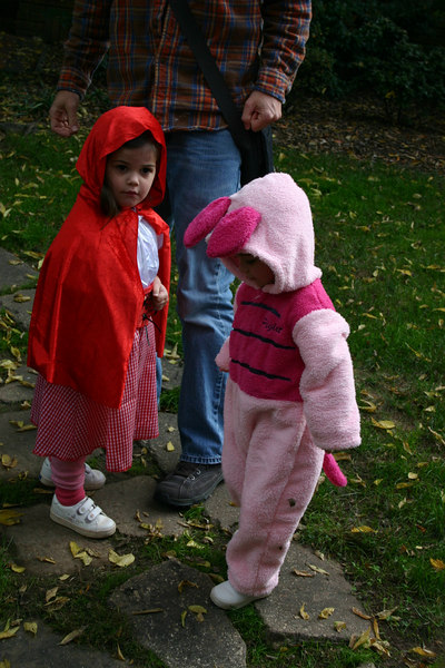 Little Red Riding Hood and One Little Piggy Halloween 2006