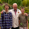 Celebrating 69 years with rapidly growing grandsons
