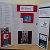 Bill Gates Display, Academic Night, Lone Pine School