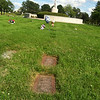 BURIAL PLOTS OF MARY JANE'S DAD AND HARRIETTE, ALL SAINTS CEMETARY
