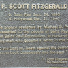 Statue of F. Scott Fitzgerald, found in Rice Park, St. Paul