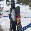 Bob ready to snowboard at Mt Ashland