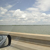 On the road to Columbia on the causeway across Lake Pontchartrain.  It took 30 minutes to cross the lake.