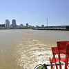 New Orleans skyline looking back from the Steamship Nachez.