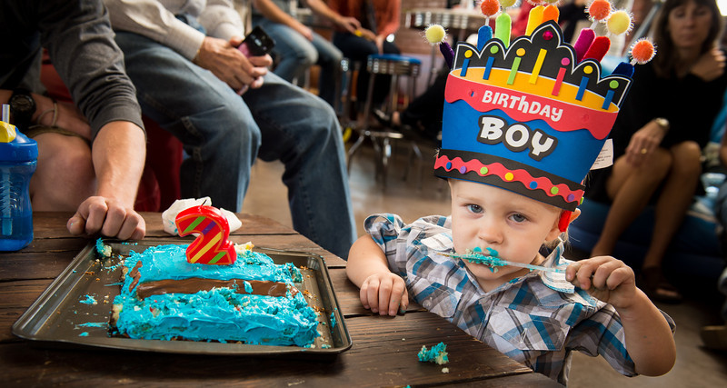 Cayden's Second birthday party at The Rock in Graham, Texas on November 10, 2012