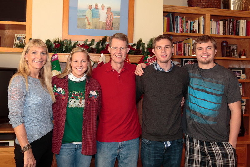 Christmas Eve Family Get Together in Davis
