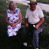 3 18 2014 Grandpa and Grandma Dudones, sep 1970, Grandpa's farm