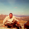 6 19 2014 Uncle Stan - summit of Twin Sisters Peak, Rocky Mt National Park, Sept 1968