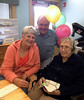 April 16, 2014 - (Missouri Veteran's Home [Vera's 94th Birthday] / Bellefontaine Neighbors, Saint Louis County, Missouri) -- MaryAnne, David and Vera