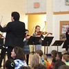 Rosa Parks 5th graders with a symphony orchestra March 3, 2015