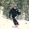 Doug Skiing Circa 1988