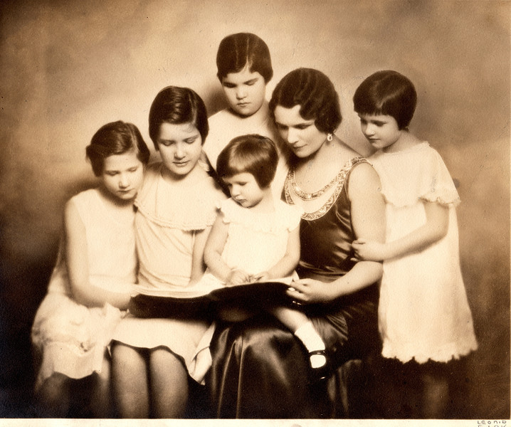 One of many beautiful portraits with mother Freddie