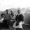 A friend of Helen Marie's, with Grandpa Lynch, Janie and Auntie at Rocky Mtn National Park