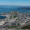 aerial photograph San Francisco International airport SFO