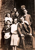 Ben Fisher middle row right Martha Rhoda Cecil Fisher front row c1937