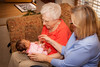 Meeting Great Grandma, Easter, April 20, 2014
