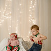 Christmas Photos of Jaxson and Mya Radlinski for Mark and Melissa.