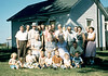 Birthday celebration for Belle near Monmouth, IL - 1957/8