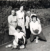 Martha Fisher Margaret Frisky Barbara Tom Rhoda Fisher Loveclough Park 1950s