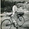 Mary Whitney Palm Springs caption written by Donald Viering- My sister-in-law, my bike