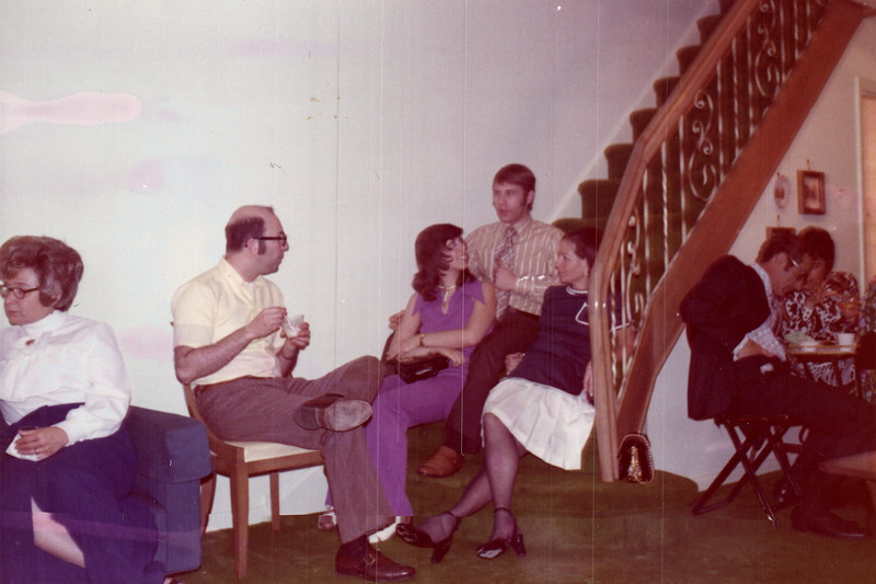 Mindy's Confrimation Party May 19, 1972