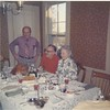 Russ, Jean and Dad - thanksgiving 1973