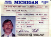 John Nicol Drivers License