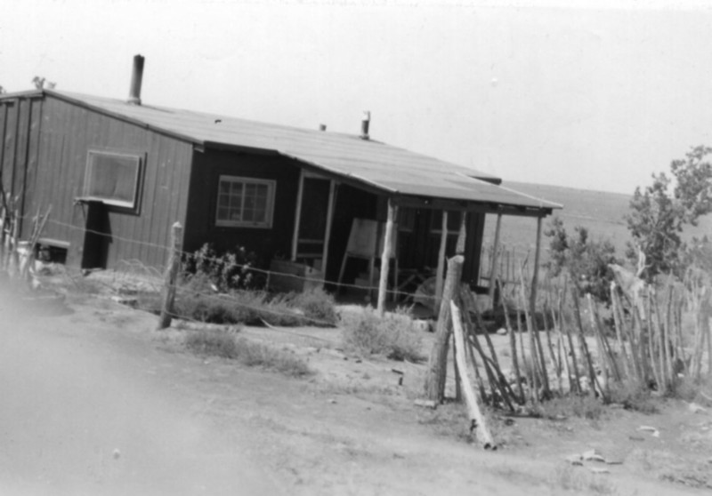 My Uncle Al's ranch in Snowflake Arizona (approx., 1930s)