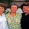 Sisters in Sydney L-R Cindy Collins: June Zerbst: Barbara Harris. Barbaras husband is 2000 kms north in Emerald Qld running the Buffalo Bolt Co. Barbara went there for her birthday.