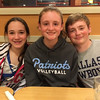 Rachel, Sydney and Christopher at IHOP.