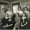 Back row - Mary Alice, Robert Sims, Elizabeth Ellen, Martha Ann, front row - Effie Smith, Patti Rose, Dorthea Scott, Patti Florence