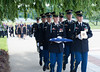 Arlington Cemetery funeral of Smithsonian's Dick Hofmesiter on J