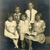 Whitney Children - Howard Edwin, Elizabeth Ellen, Robert Sims, Martha Ann, Mary Alice