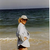 2001 - Sue at Block Island, Mansion beach