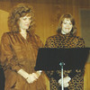 1987 my first ever recital, given in sanctuary at Temple Beth El.  Got Mom and Sue to sing with me.