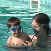 2004-9-4 - Ian and Sarah at the pool