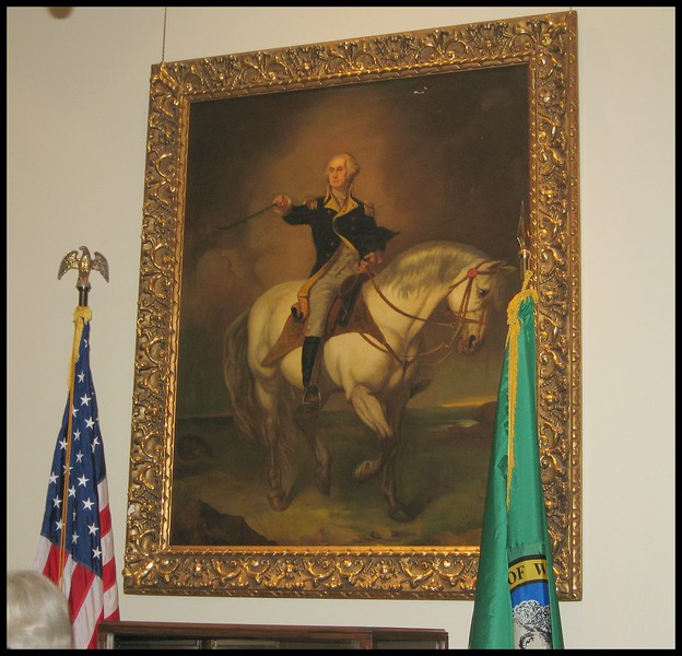 george washington our states namesake we are the only state named after a president