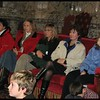 some of the chaperones hanging out on the state room sofa