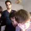 Skype with the boys, April 20, 2014