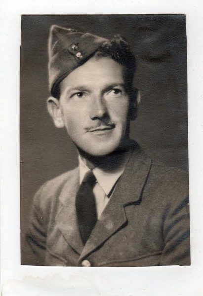 William Hardy - in his RAF uniform (WW2)<br /> Time period is 1939-1945<br /> (This was the uniform worn in the 40's)
