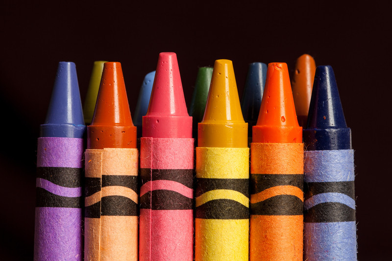Kids love their crayon