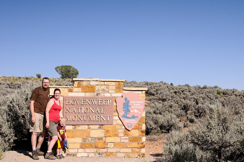 Entrance to Hovenweep