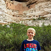 Brandon below Montezuma Castle