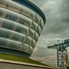 The SSE Hydro & The Titan Crane