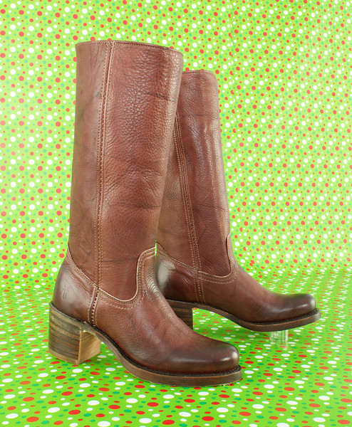 Frye Sabrina 14L Boot in redwood