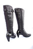 Tsubo Lilion Boot with Patent Glossy Spike Heel, in Black Tsubo Lilion Boot with Patent Glossy Spike Heel, in Black