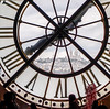 Clock at Musee d'Orsay, Paris