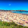 Bondi Beach Crowd